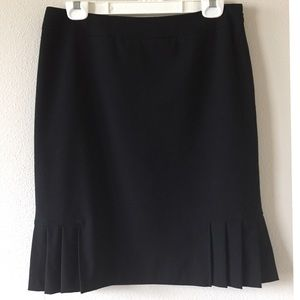 Tahari Authur  S. Levine black skirt